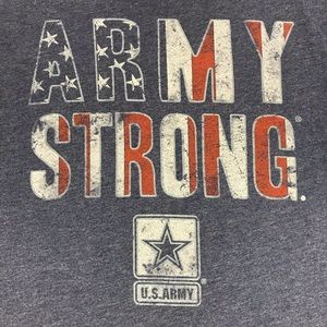 Army Strong Patriotic Graphic Tee Old Navy Men Sm